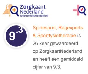 Reviews van Spinesport Rugexperts & Sportfysiotherapie