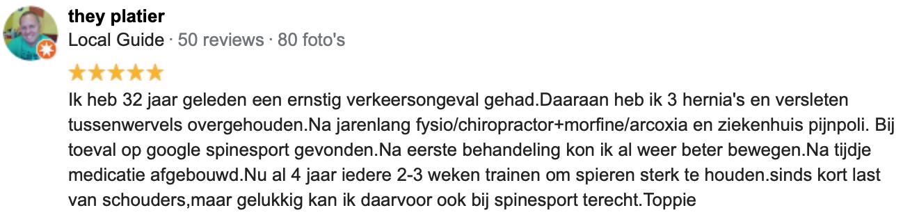 Fysiotherapie Roermond rugklachten