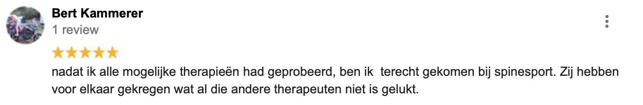 Review Fysiotherapie Maastricht